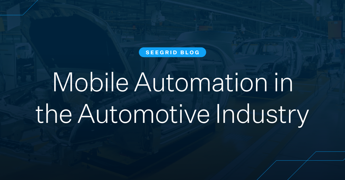 Mobile automation and AMRs in the automotive industry