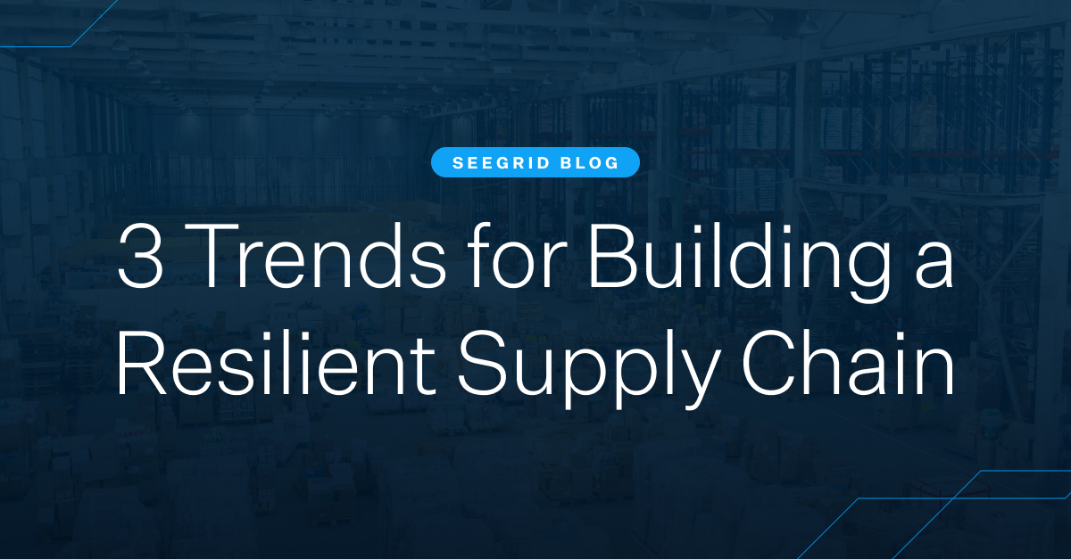 3 trends for building a resilient supply chain with automation