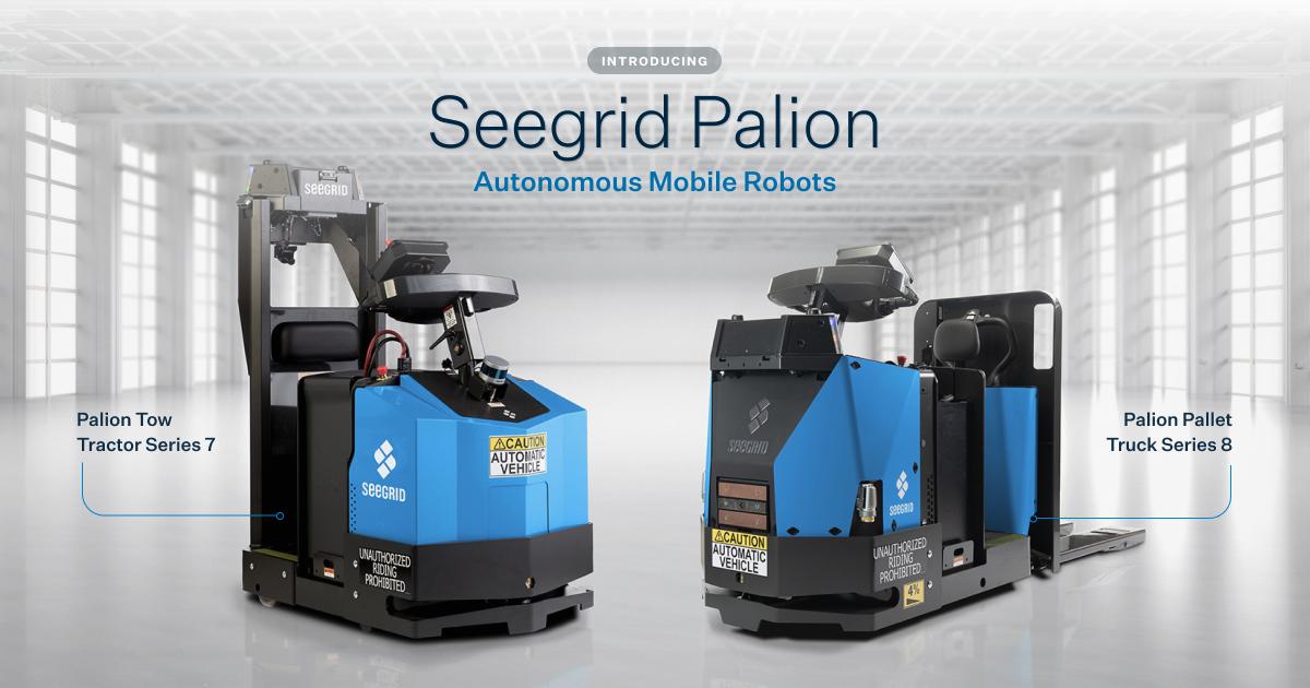 Seegrid Palion Autonomous Mobile Robots