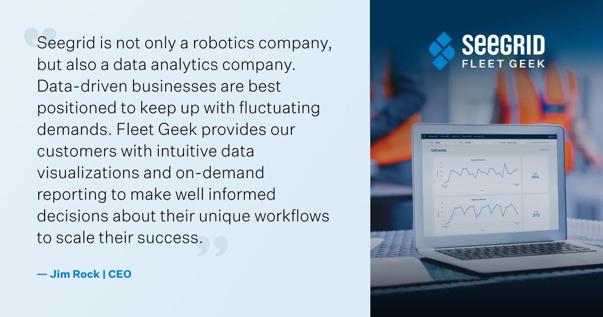 Seegrid Fleet Geek Analytics Software