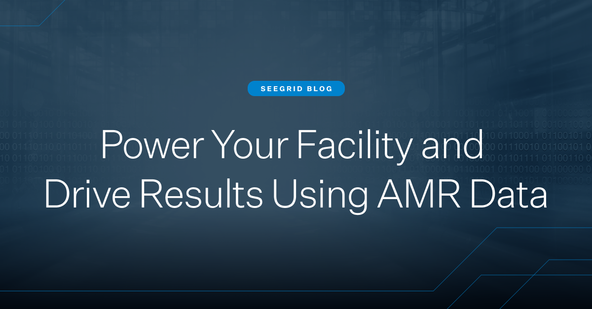 Power your material handling facility and drive results using autonomous mobile robot (AMR) data