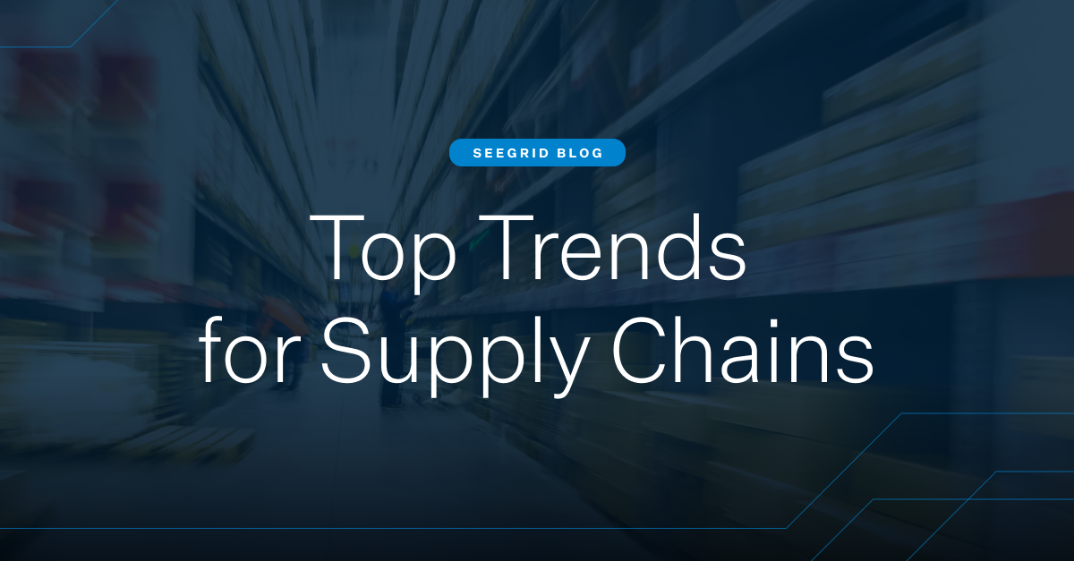 Top Trends for Supply Chains | The biggest trends for optimizing operations with automation, AGVs, and AMRs