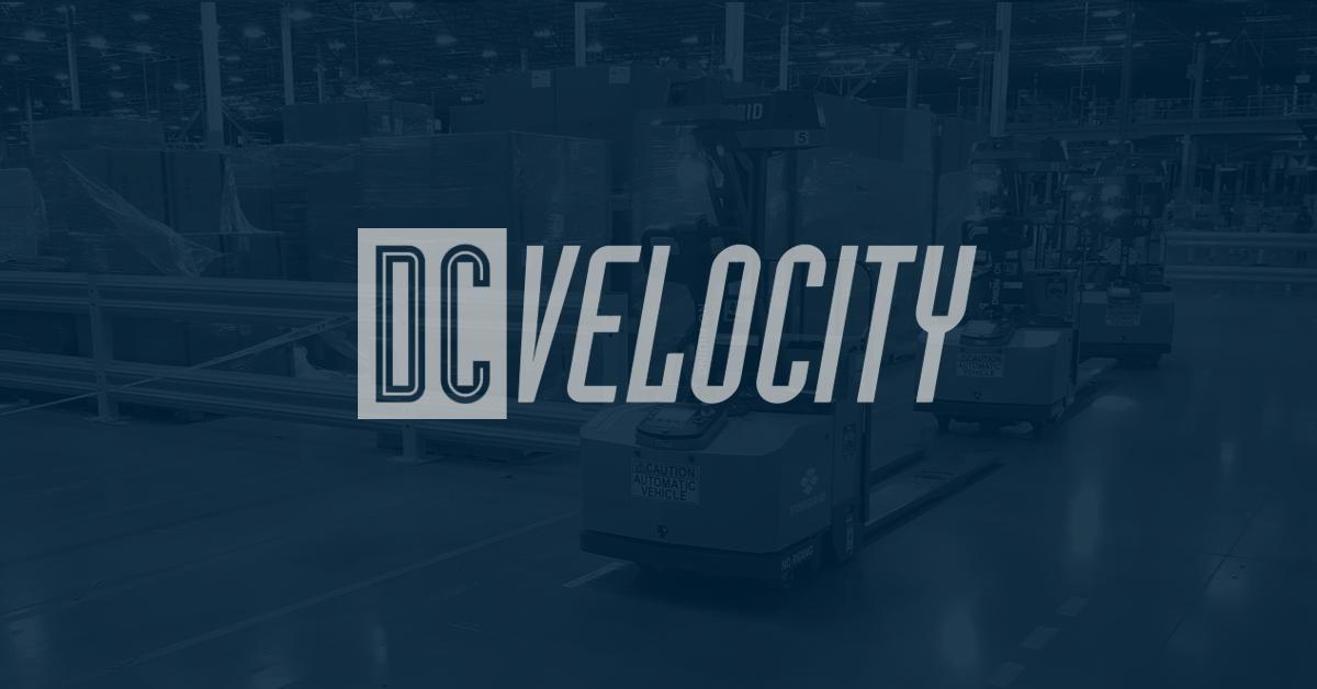 Seegrid DC Velocity news thumbnail