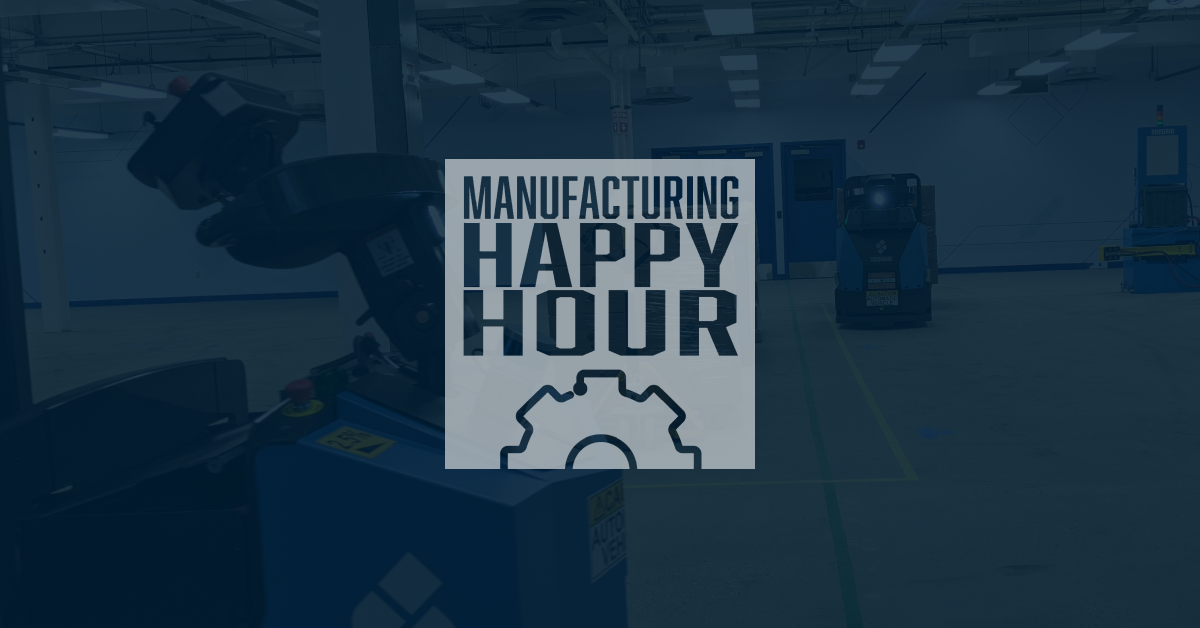 Manufacturing Happy Hour with Seegrid' Jeff Christensen - All Things Autonomous Mobile Robots (AMRs)