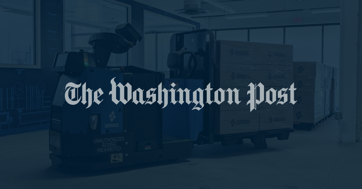 The Washington Post - Labor and hiring troubles prompt companies to eye automation, machines, AMRs, and AGVs