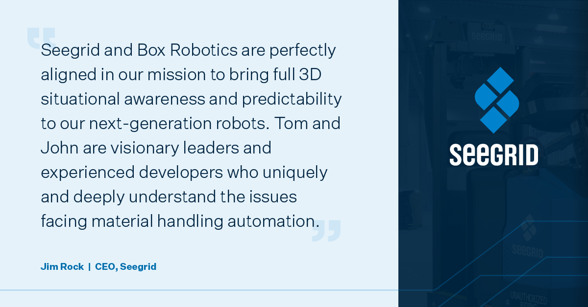 Seegrid Acquires Box Robotics