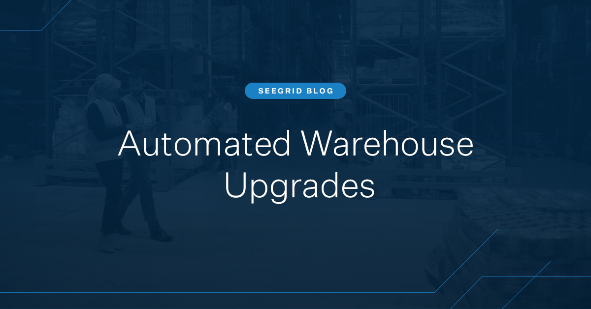 Automated Warehouse Upgrades with AMRs and AGVs for Today & Tomorrow