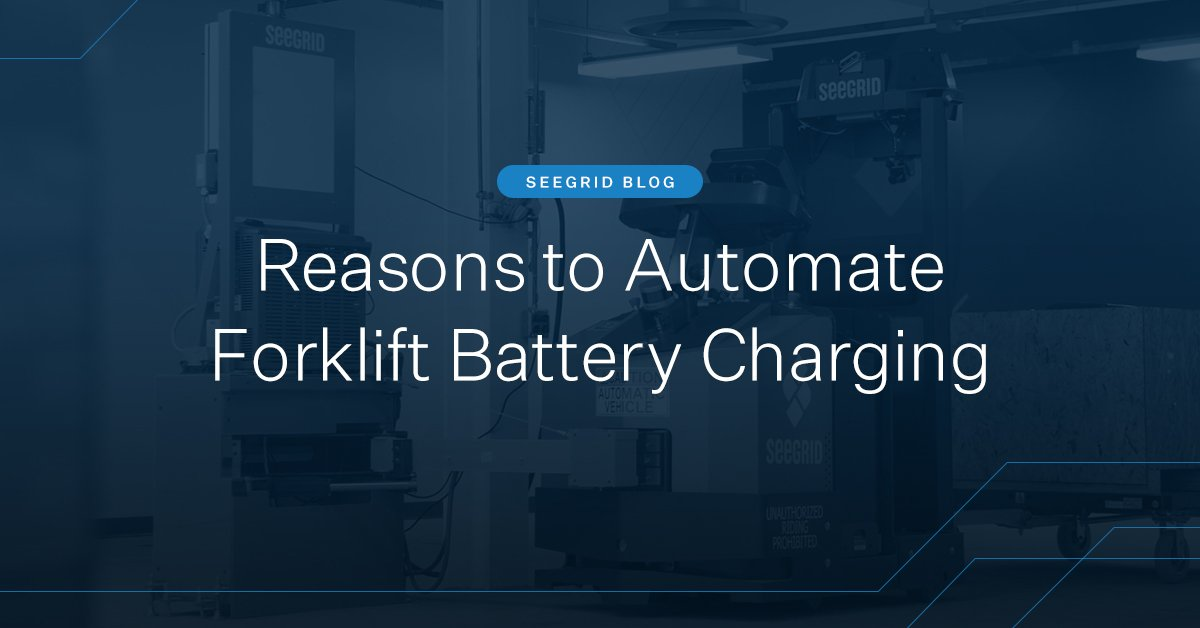 Reasons why you should automate your forklift battery charging in warehouses