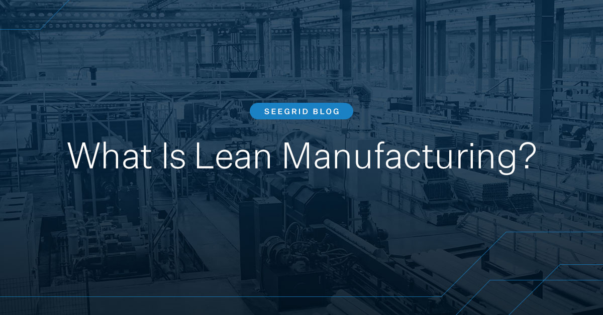 What is lean manufacturing and where do autonomous mobile robots fit in?