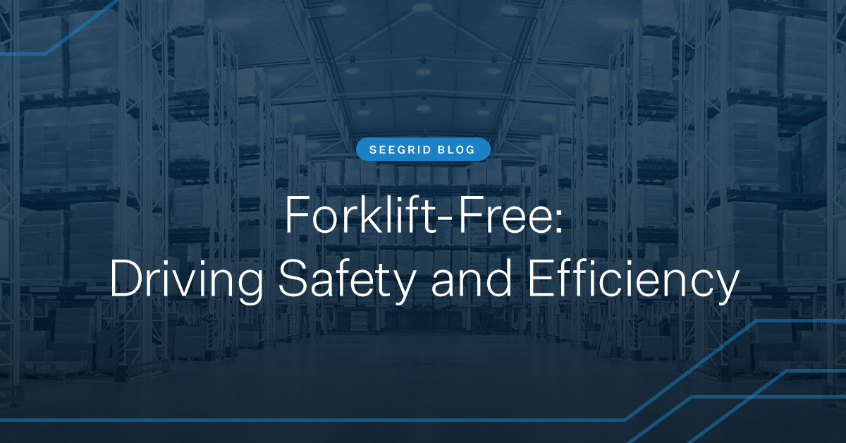 Forklift free: Driving safety and efficiency with autonomous mobile robots (AMRs) for warehousing, manufacturing, and distribution facilities