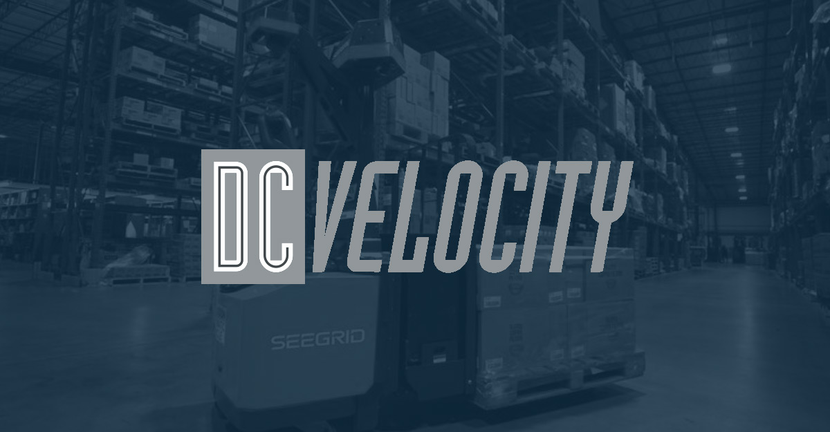 DC Velocity Seegrid Self-Driving Pallet Truck