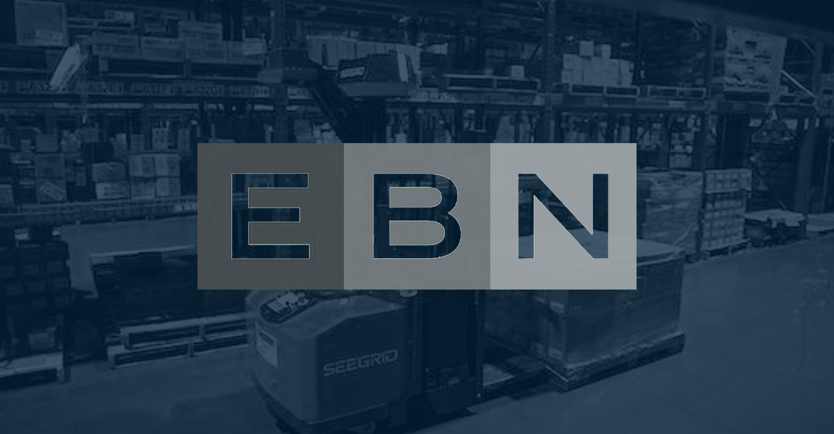 EBN Seegrid vehicles in the supply chain